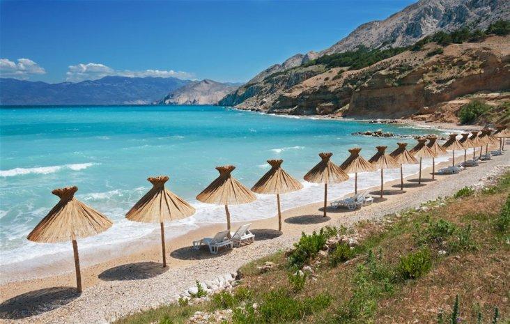 vela luka beach